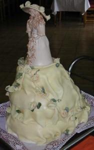 Sanyo eskuv torta 2